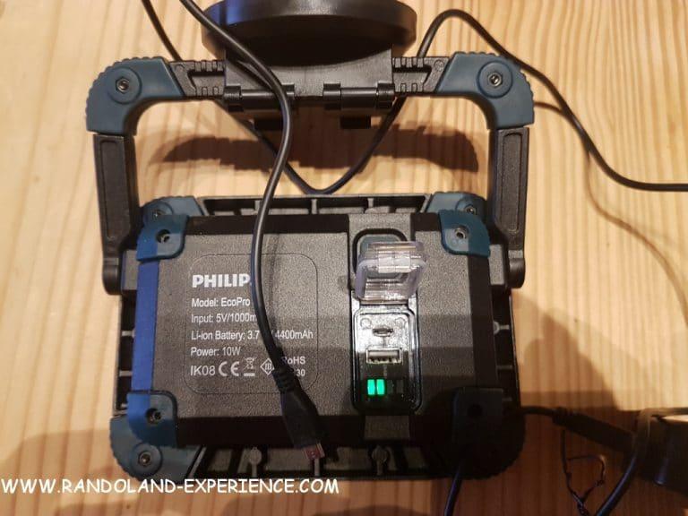 LED CMS Philips RC520C1 branché