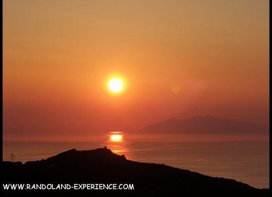 Levé de soleil Corse
