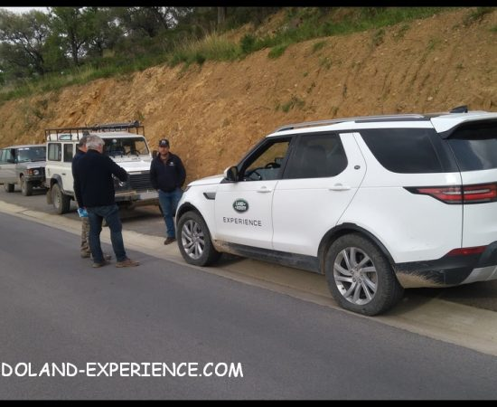 Land Rover Experience Belgique Disco 5